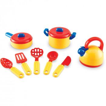 Recursos de aprendizaje pretenden y jugar juego de cocina-765023009392-0