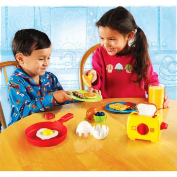 Recursos de aprendizaje subida y brillan desayuno - Play Set-765023090680-0