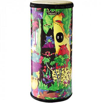 """Remo los niños percusión Konga - 6"""" de diámetro x 15"""" alto, tela de la selva-757242100479-0"""