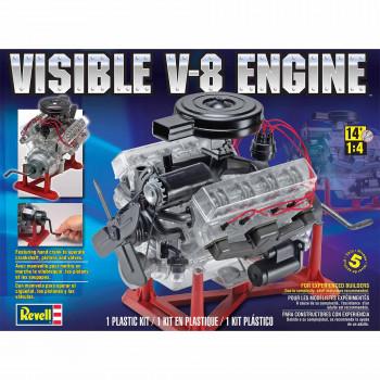Revell A Escala 1:4 Visible Motor V-8 Kit De Modelo-031445088834-0