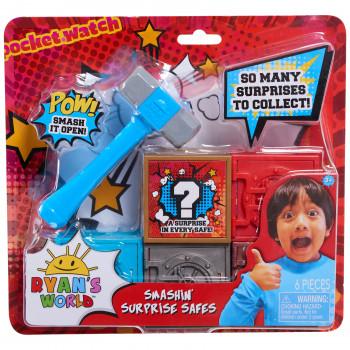 Ryan's World Smashin 'Surprise Cajas fuertes - Cinco cajas fuertes --886144792663-0