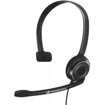 Sennheiser PC auricular sobre la cabeza de un solo lado 7 USB, negro-615104225275-0