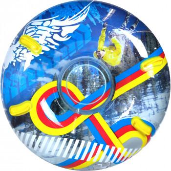 "Sno de tubería 48"" inflado transparente tubo de Snow Freestyle-044194142498-0"