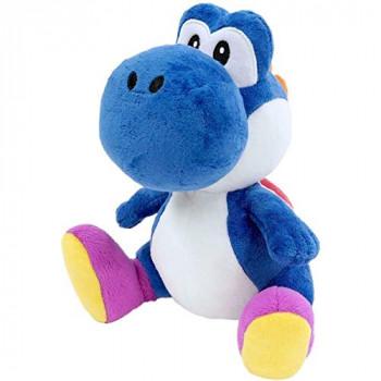 """Super Mario Bros Yoshi 6"""" felpa [azul]-819996013884-0"""