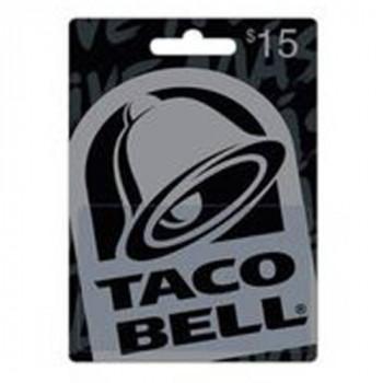 Taco Bell $15 Tarjeta De Regalo-799366222798-0