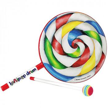 """Tambor de remo niños percusión Lollipop - 6"""" de diámetro-757242158906-0"""