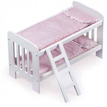 """Tejón cesta muñeca literas con escalera - ajustes la mayoría de 18"""" muñecas y mi vida como-046605718551-0"""