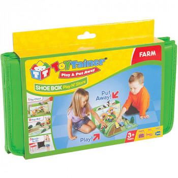 Toytainer caja Play-N-tienda de zapatos, granja-814906014111-0