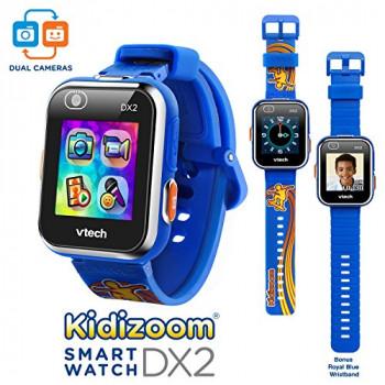 VTech Kidizoom Smartwatch DX2 - Edición Especial - Patineta de Swoosh con el Bonus de Royal Azul Pulsera-B073RFXSG8-a-A-0