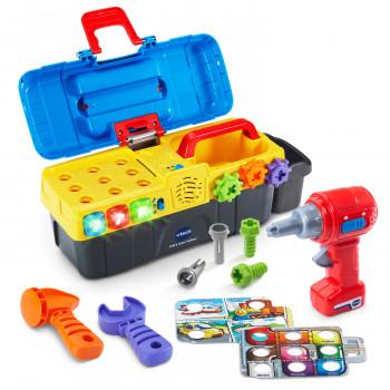 VTech Perforación y Aprender caja de herramientas Con el Trabajo de Perforación y Herramientas - -124823562-w-0