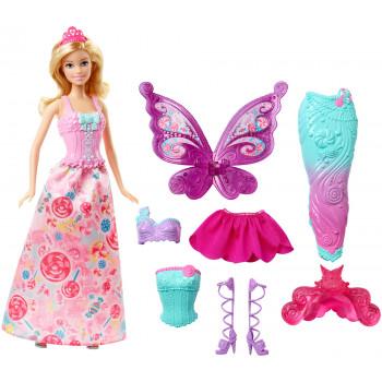 Vestido de Barbie Fairytale-887961207620-0