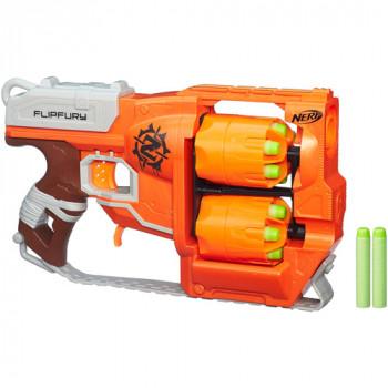 Zombie de Nerf Strike FlipFury Blaster-630509278572-0