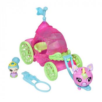 Zoobles princesa carro Mini Play Set-778988011324-0