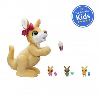furReal Mama Josie el juguete interactivo canguro para mascotas, mejor valorado por los niños - -514912528-w-0