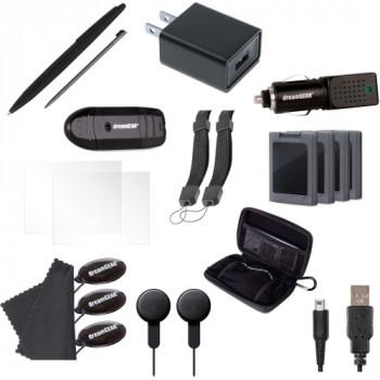iSound 2261 DG3DSXL portable 20 en 1 Essentials Kit para la nueva Nintendo 3DS XL-845620022618-0